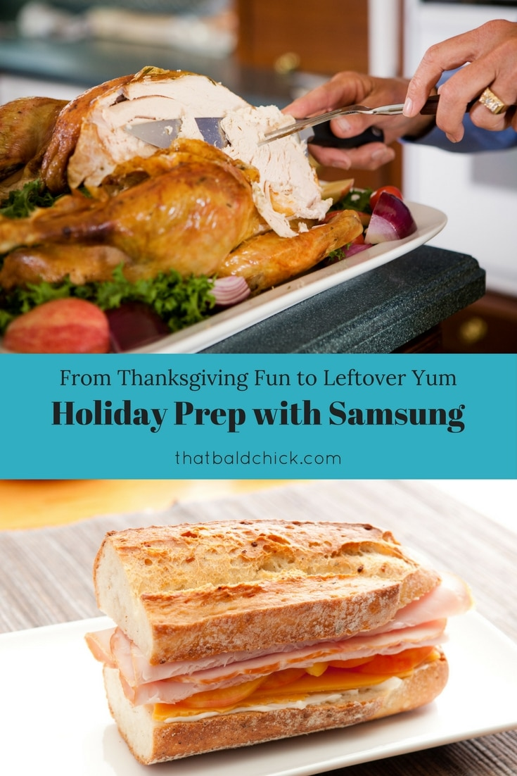 Holiday Prep with Samsung at thatbaldchick.com