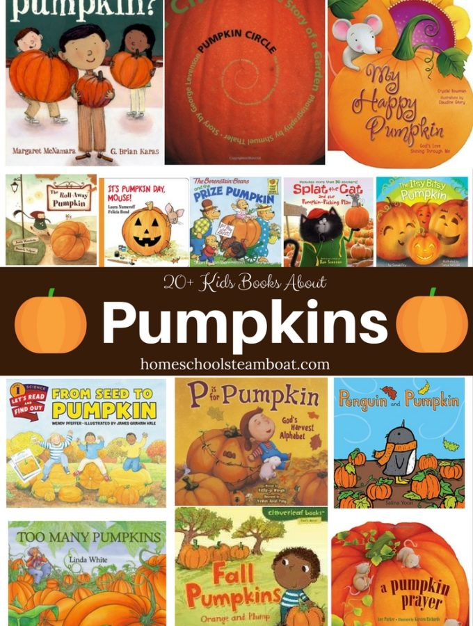 Kids Books About Pumpkins