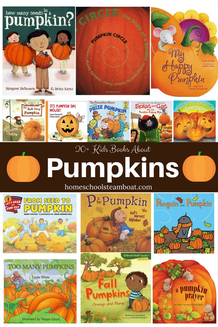 Our favorite Kids books about pumpkins! homeschoolsteamboat.com