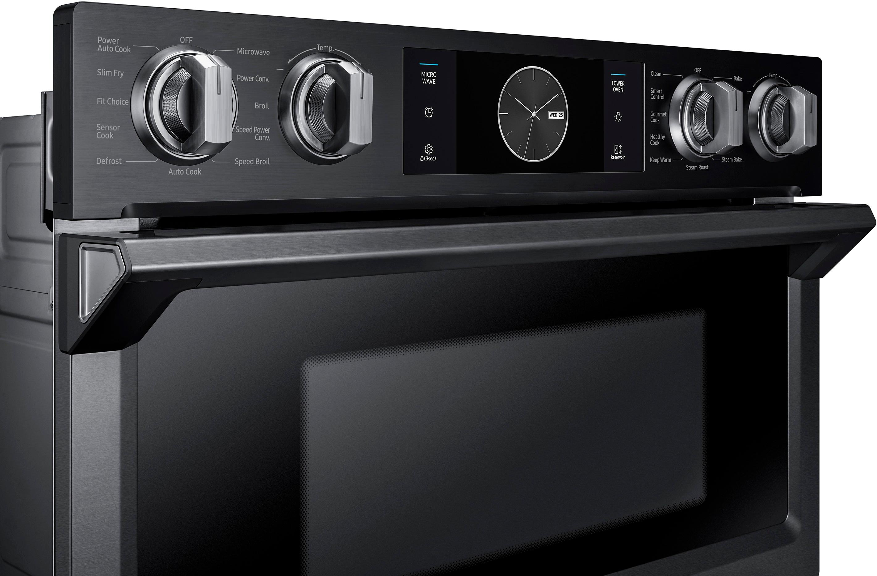 The Samsung Microwave Combination Wall Oven at Best Buy
