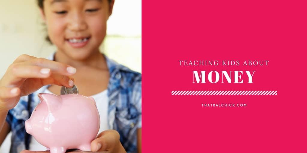 teaching kids about money at thatbaldchick.com