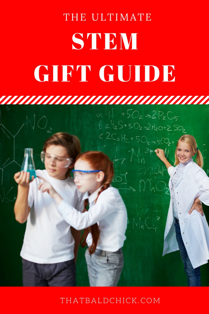 The Ultimate STEM Gift Guide at thatbaldchick.com