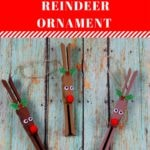 Clothespin Reindeer Ornament