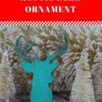 Rustic Deer Ornament