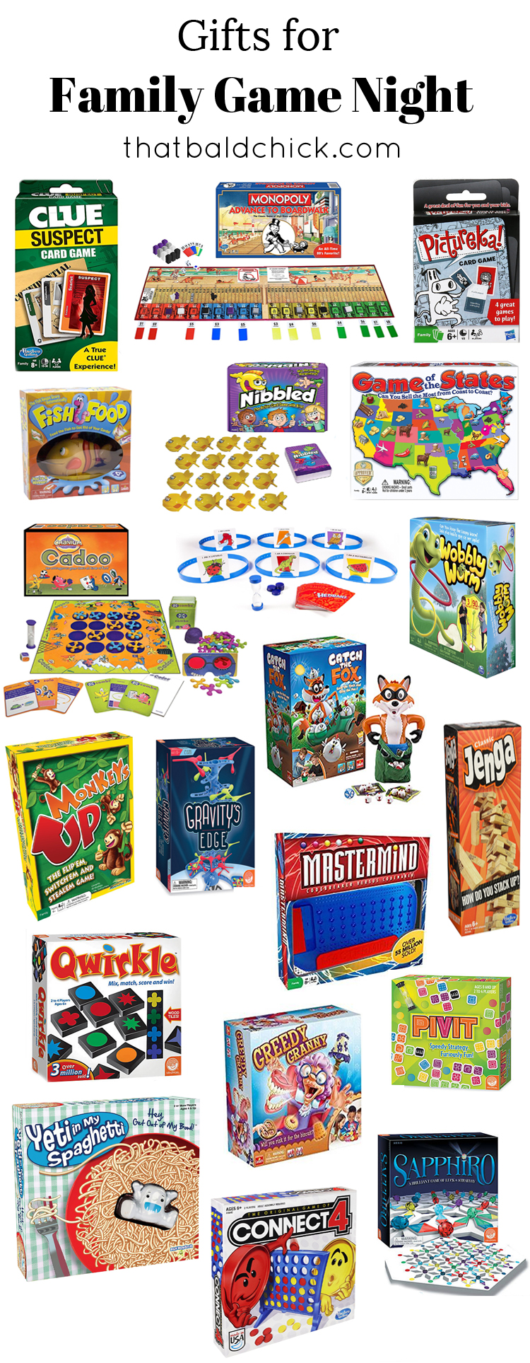 Gifts for Family Game Night