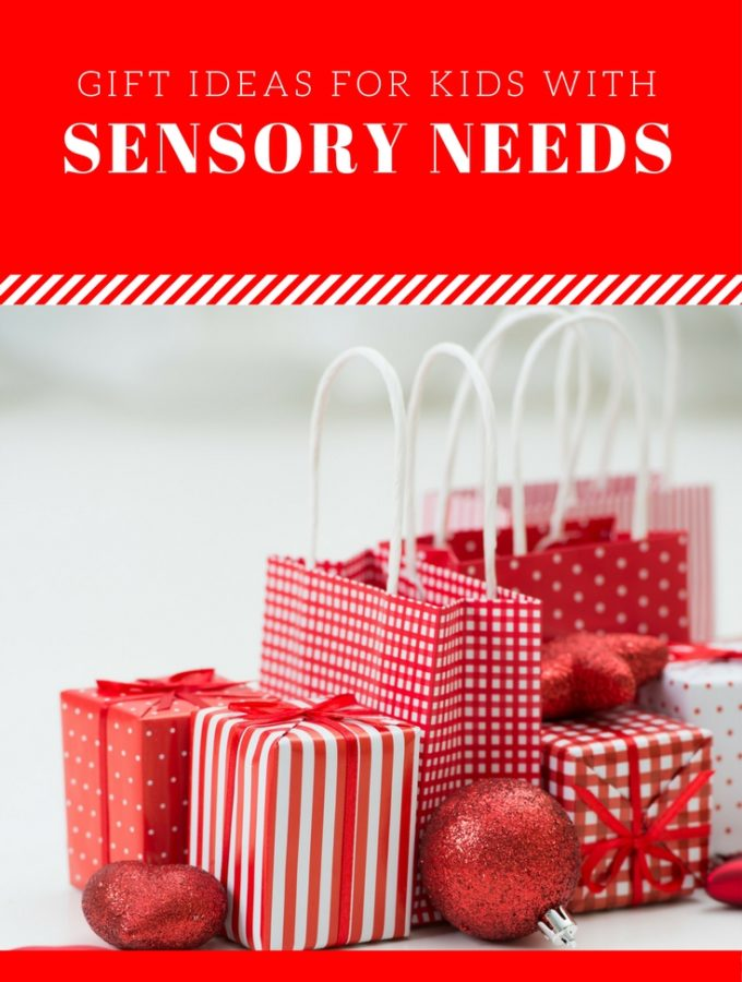 Over 25 Gift Ideas for Kids with Sensory Needs at thatbaldchick.com