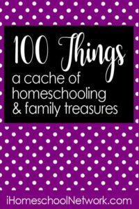 iHomeschool Network 100 Things Cache