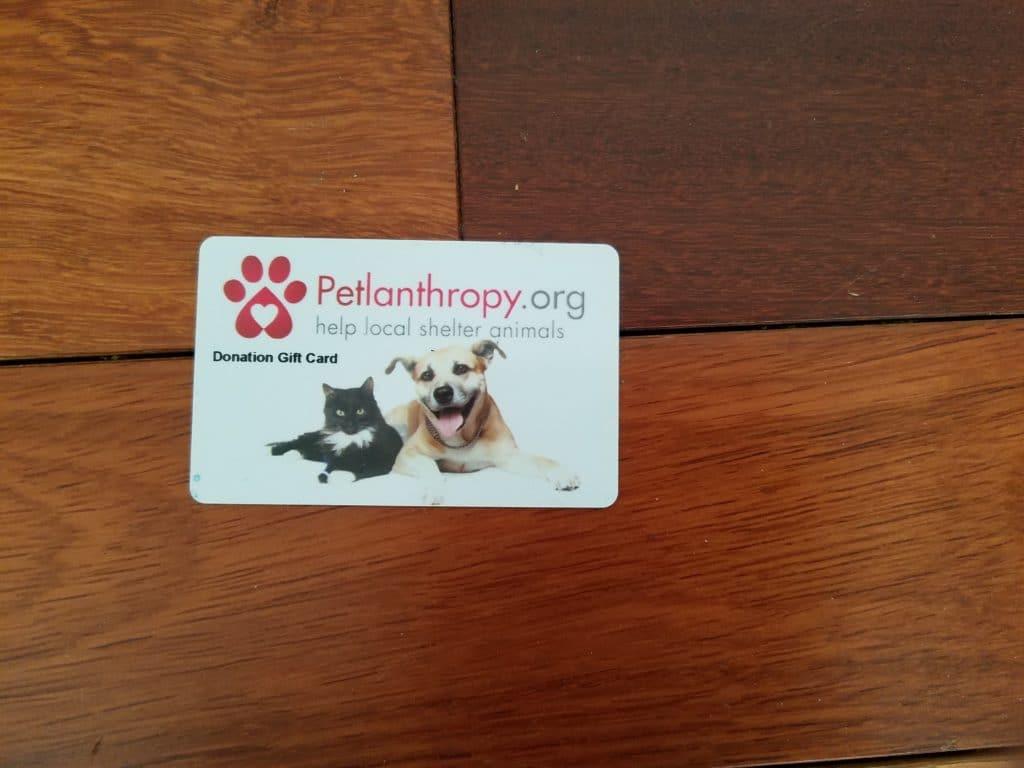 Petlanthropy Gifting Card