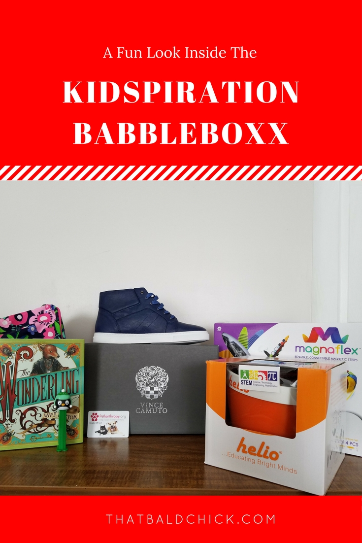 A fun look inside the Kidspiration Babbleboxx