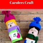 Toilet Roll Carolers Craft