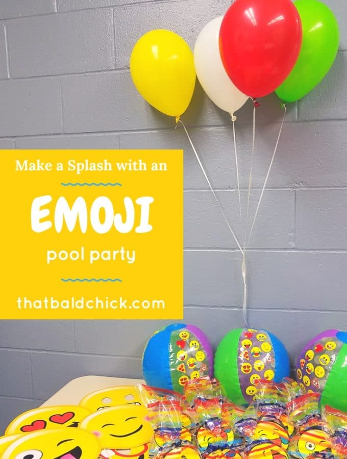 Emoji Pool Party