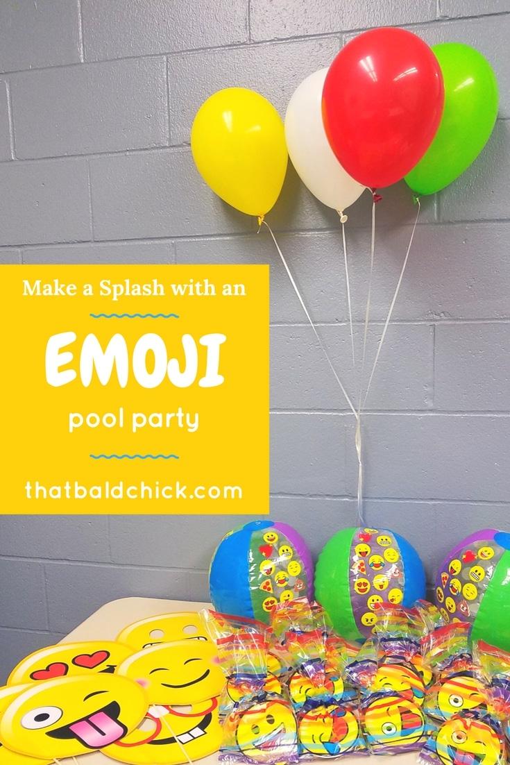 Emoji Pool Party