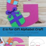 G if for Gift Alphabet Craft