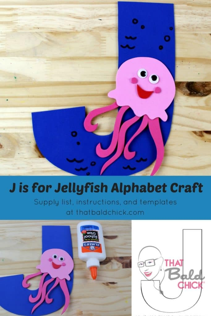 J is for Jellyfish Alphabet Craft