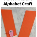 Get the supply list, instructions, and templates for this V is for Vulture Alphabet Craft today! #homeschool #teacher #alphabet #abcs #lotw #free #printable