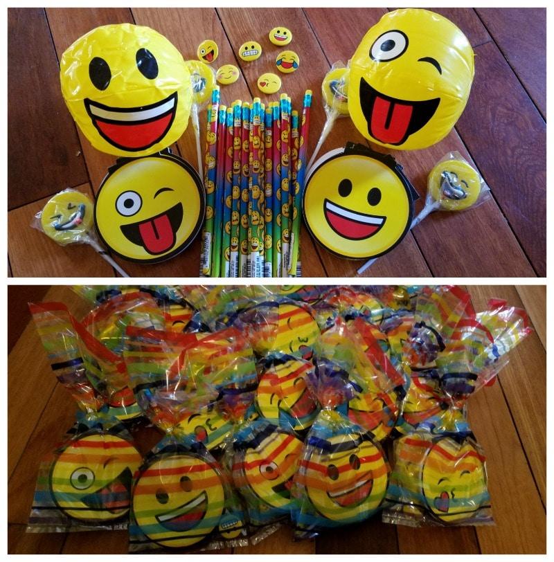 emoji party favors