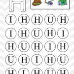 Uppercase Do A Dot Letter H