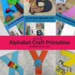 Alphabet Craft Printables
