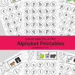 Lowercase Do A Dot Alphabet Printables