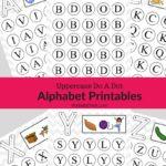 Uppercase Do A Dot Alphabet Printables
