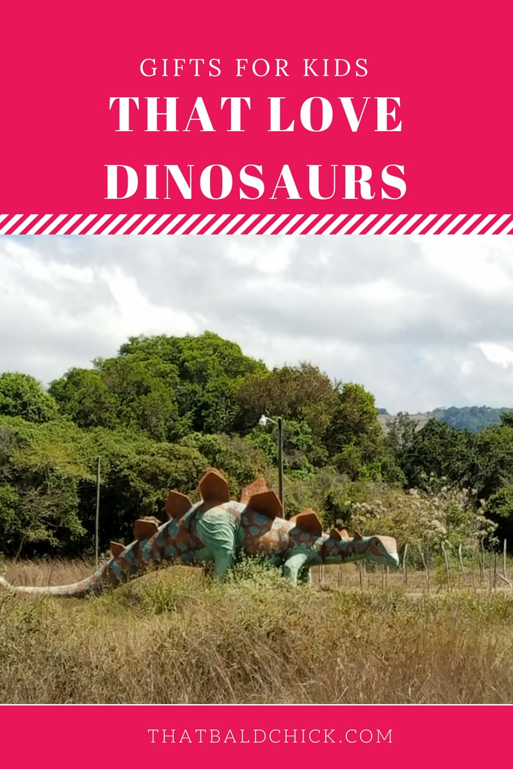 Gifts for Kids that Love Dinosaurs at thatbaldchick.com