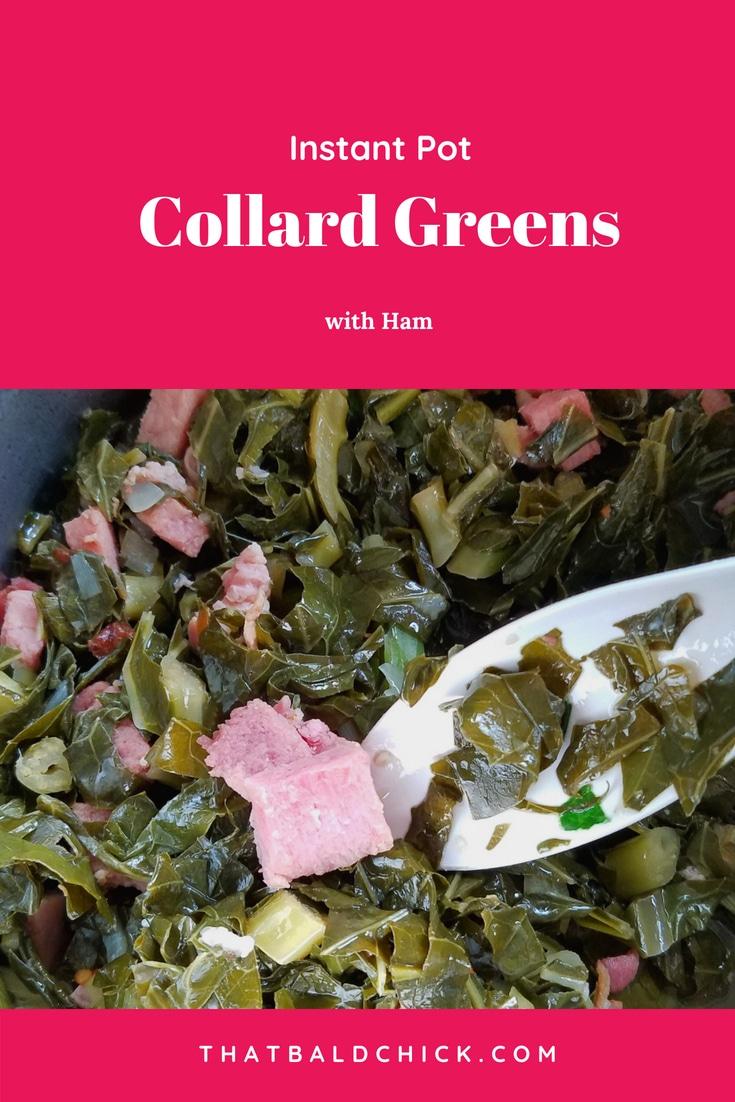 You can either serve these instant pot collard greens as a meal or a side, depending on your families preference. Enjoy! #instantpot #instantpotrecipe #instantpotrecipes #collardgreens #soulfood #southernfood #foodie #keto