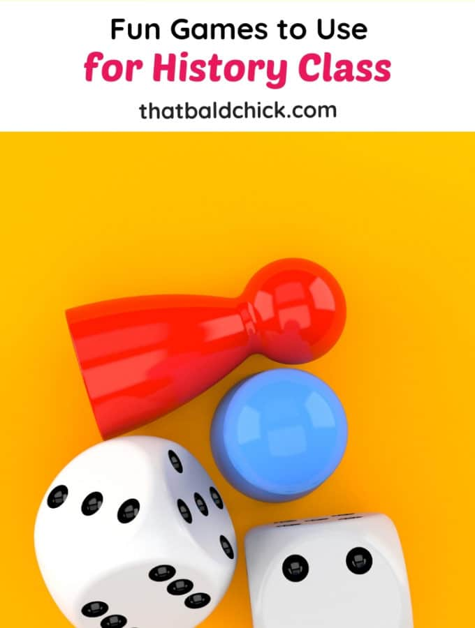 Fun Games to Use for History Class at thatbaldchick.com