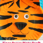 Tiger Paper Plate Craft