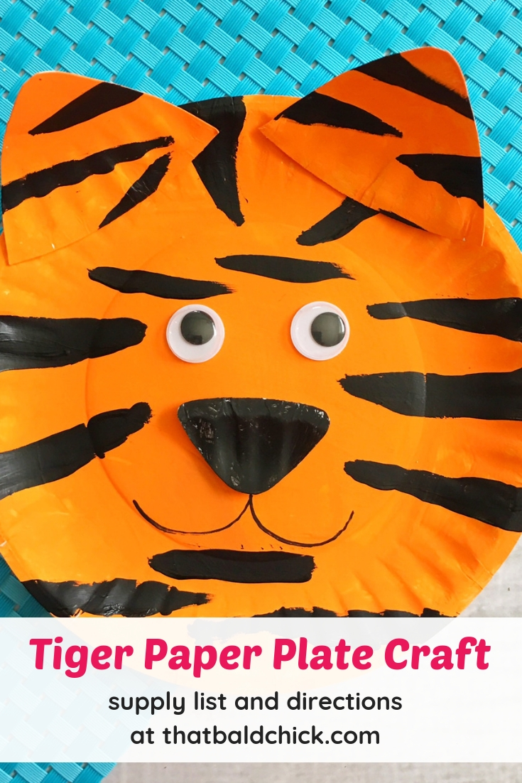 Outstanding Tiger Paper Plate Craft That Bald Chick Home Interior And Landscaping Analalmasignezvosmurscom