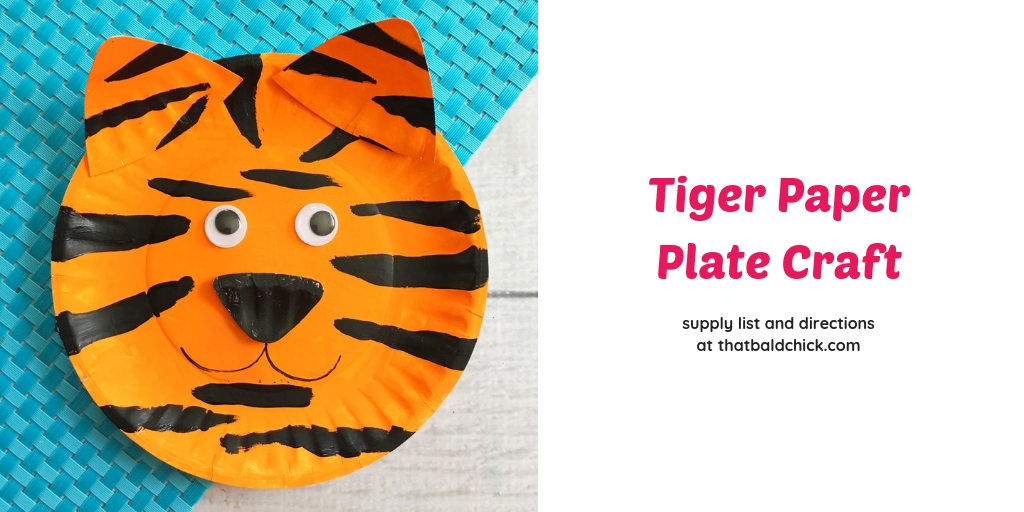 Tremendous Tiger Paper Plate Craft That Bald Chick Home Interior And Landscaping Analalmasignezvosmurscom