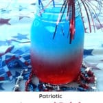 Patriotic Layered Drink