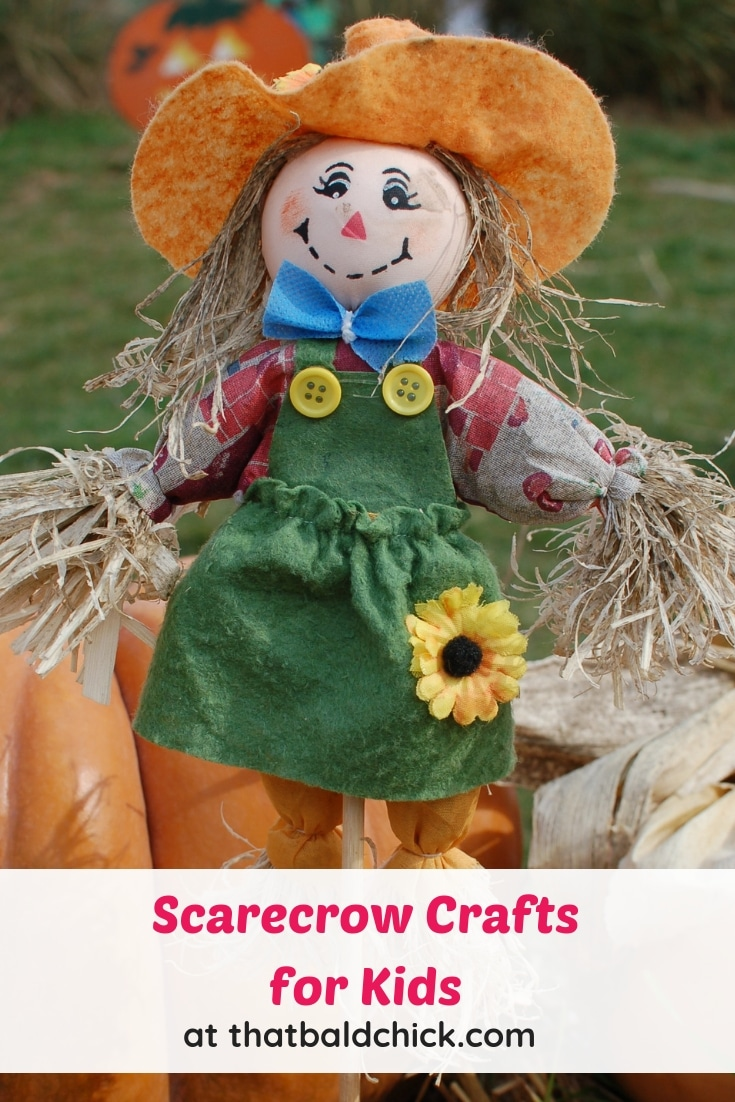 Check out these Scarecrow Crafts for Kids!  Over 25 to choose from!