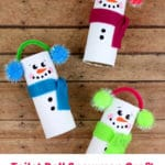 Toilet Roll Snowman Craft