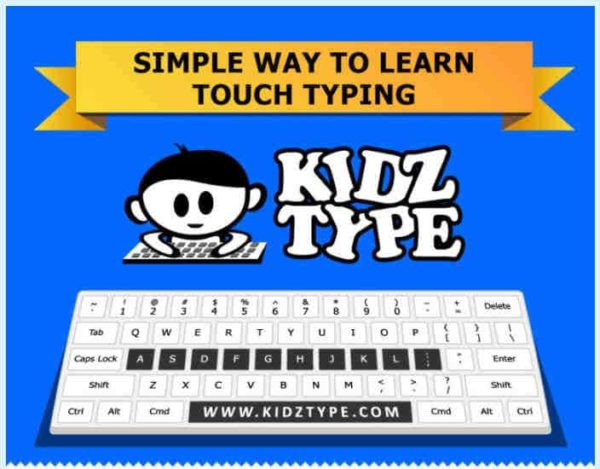 Game Based Typing Lessons at KidzType