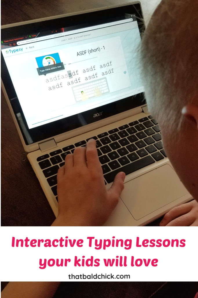 Your kids will love the interactive typing lessons on typesy.com