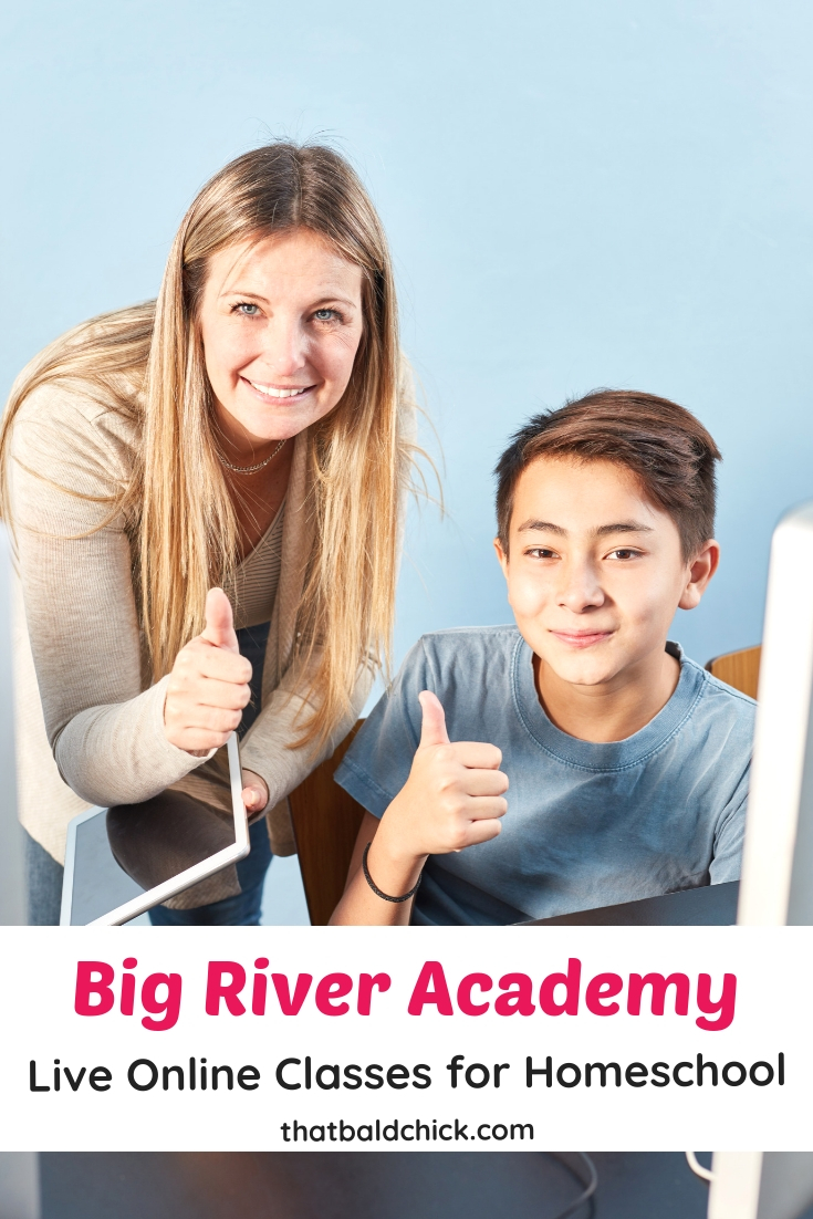 Live Online Classes for #Homeschool! Big River Academy live online classes include offerings in #English, #science, #socialscience, #math, #foreignlanguage, #testprep, and electives.  #homeeducate #hsmommas #homeed
