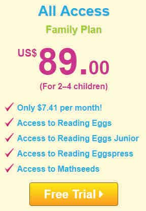 Reading Eggs & Math Seeds Free Trial