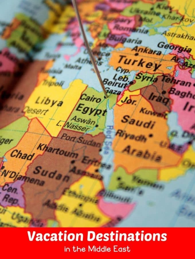 Vacation Destinations in the Middle East