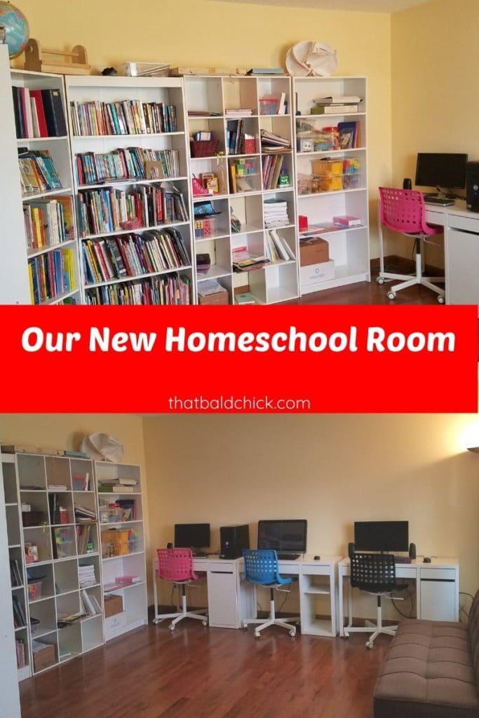 our homeschool room