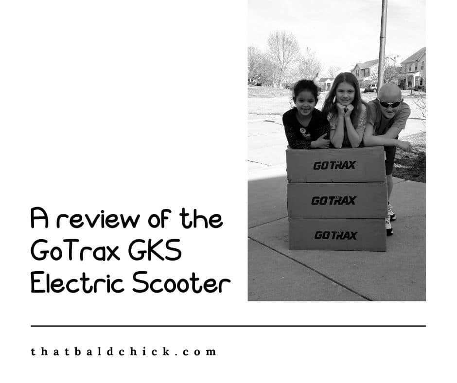 A review of the GoTrax GKS Electric Scooter