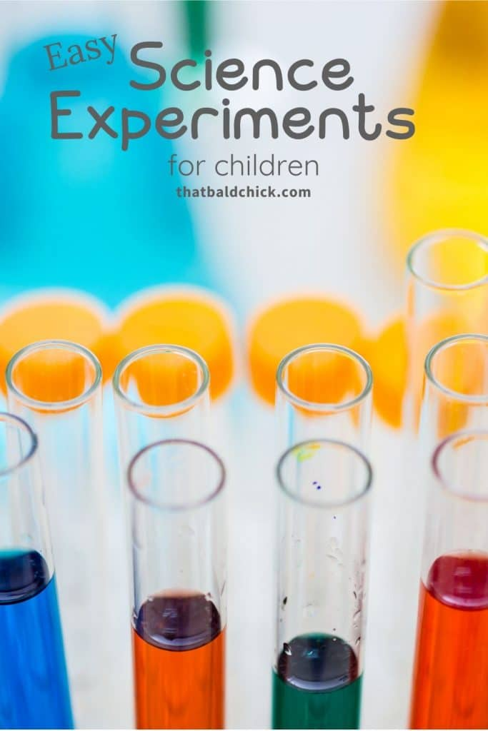 Easy Science Experiments for Children