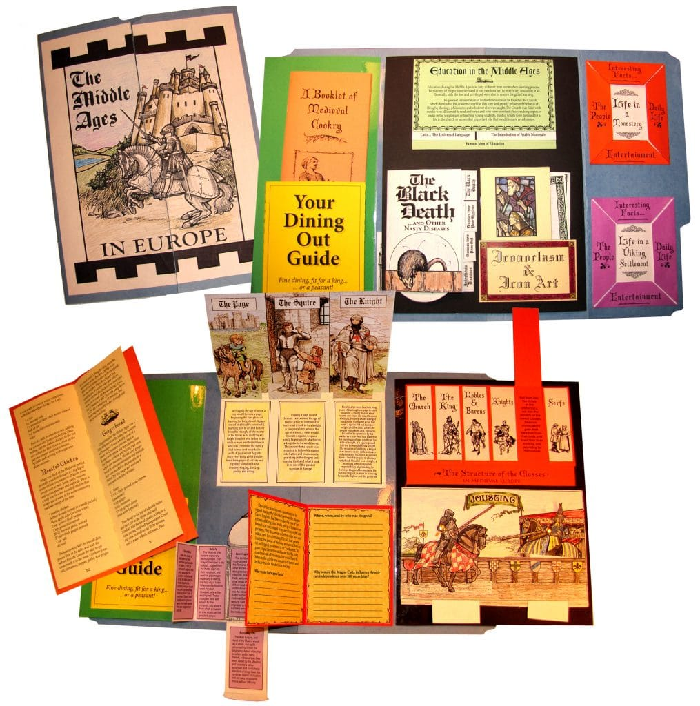 The Middle Ages Lap Book