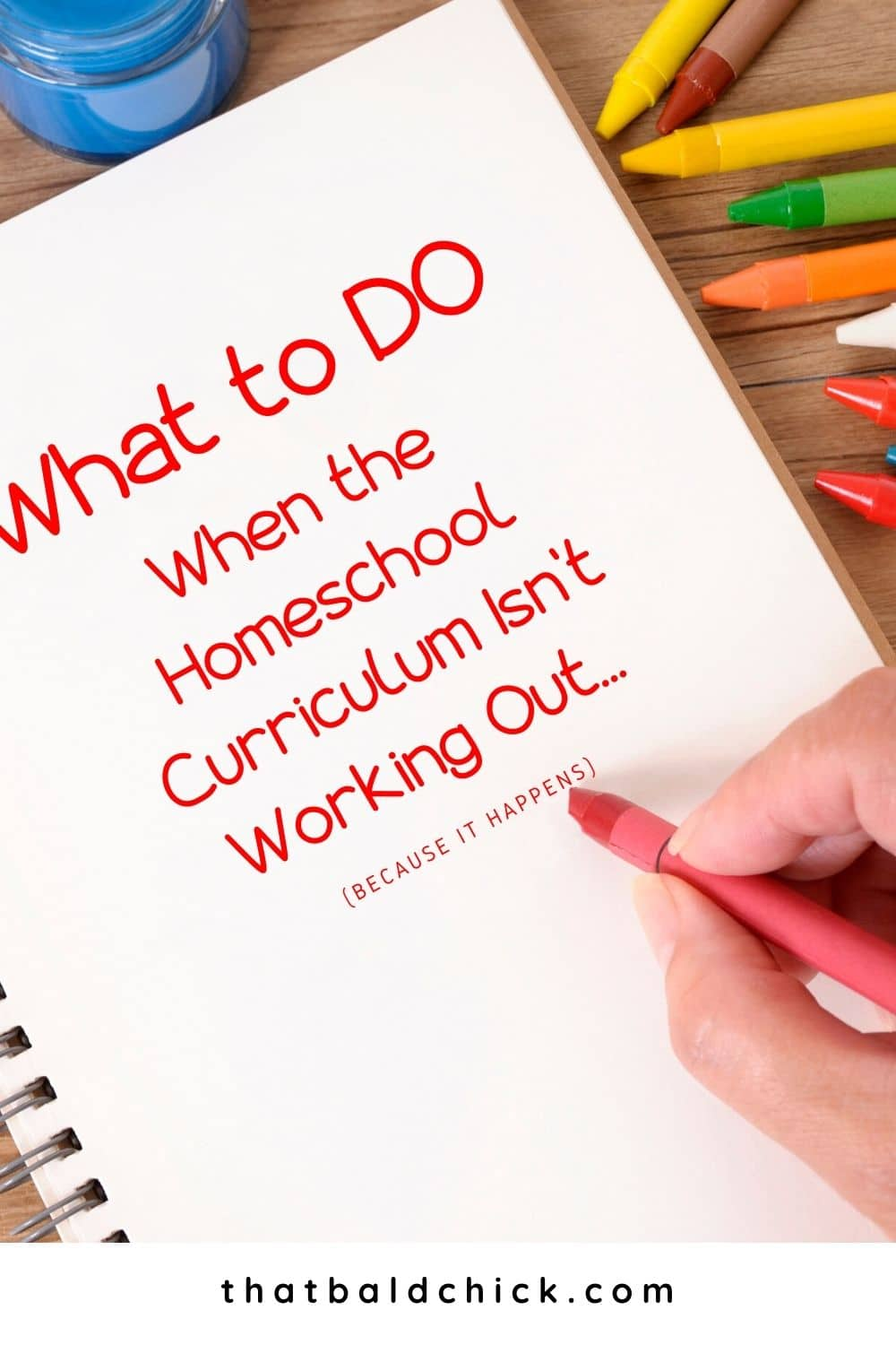 What to Do When the Homeschool Curriculum Isn't Working Out
