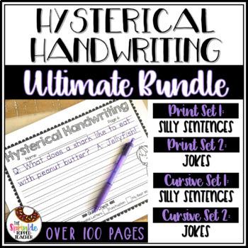 Hysterical Handwriting Ultimate Bundle