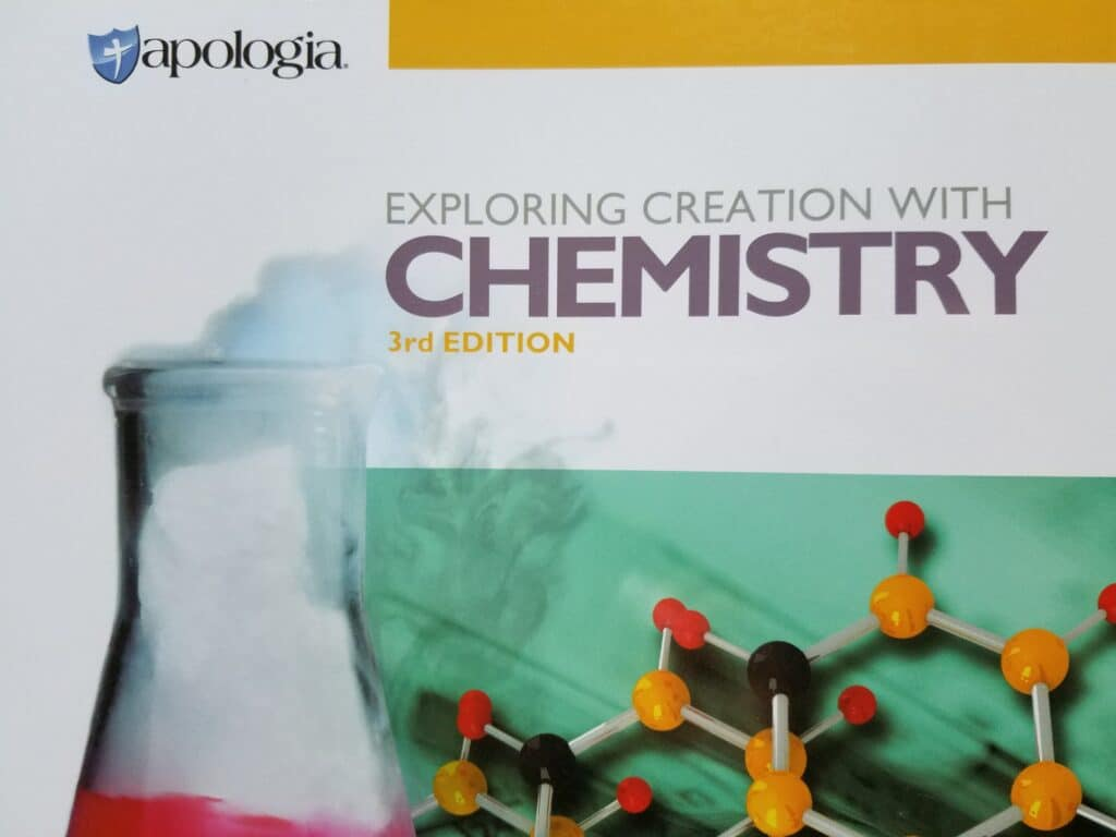 Apologia Exploring Creation with Chemistry 3rd Edition