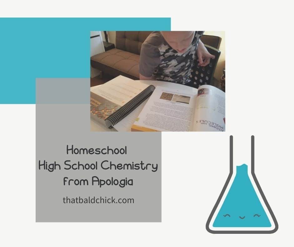 Homeschool High School Chemistry from Apologia