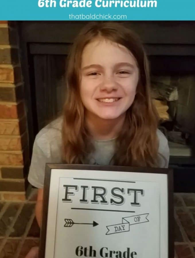 6th grade curriculum
