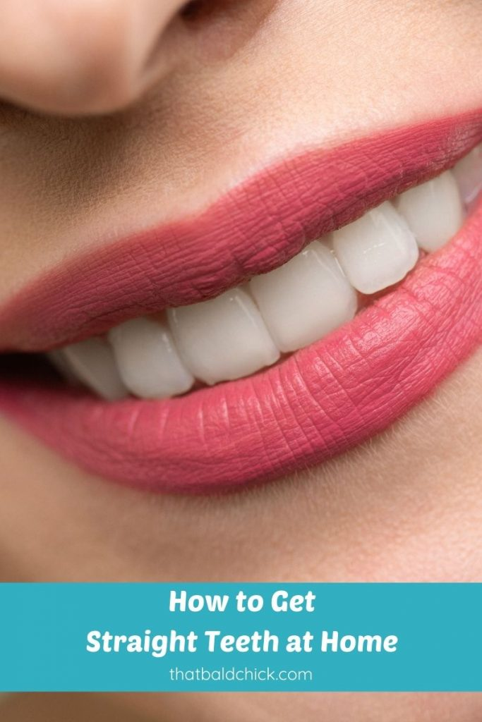 how to get straight teeth at home