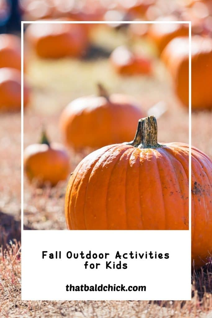 fall outdoor activities for kids
