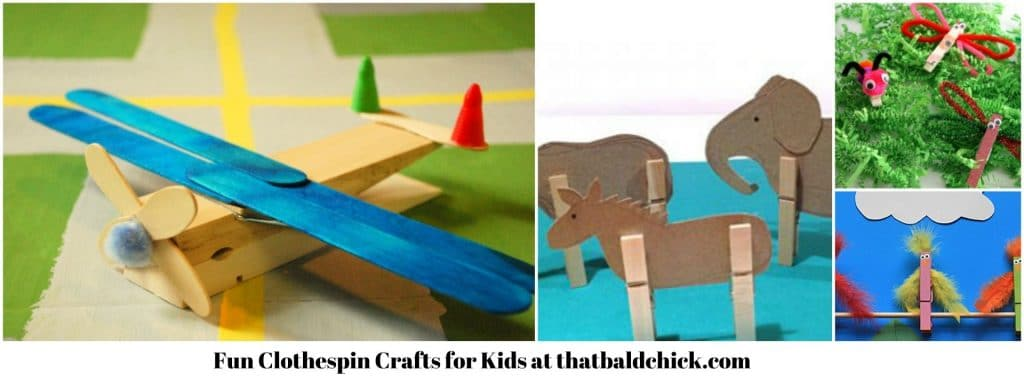 Fun Clothespin Crafts for Kids